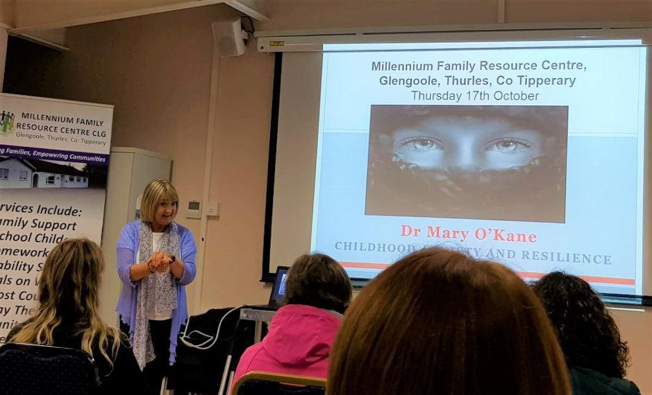 Dr Mary O'Kane public presentation